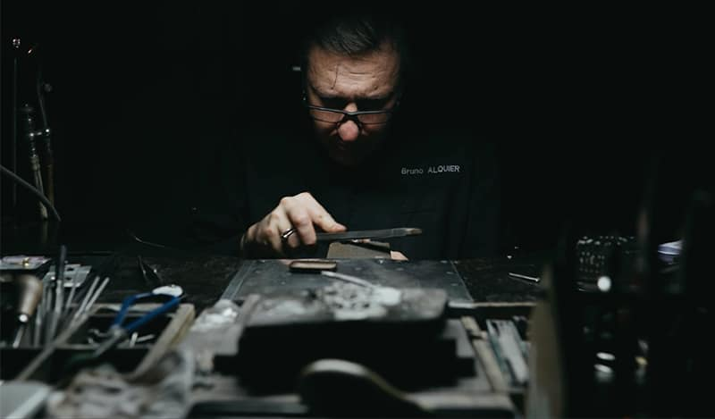 Bruno Alquier, créateur bijoutier