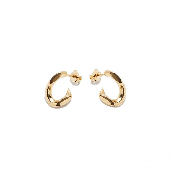 Boucles d'oreilles Pierse Chain par Annelise Michelson