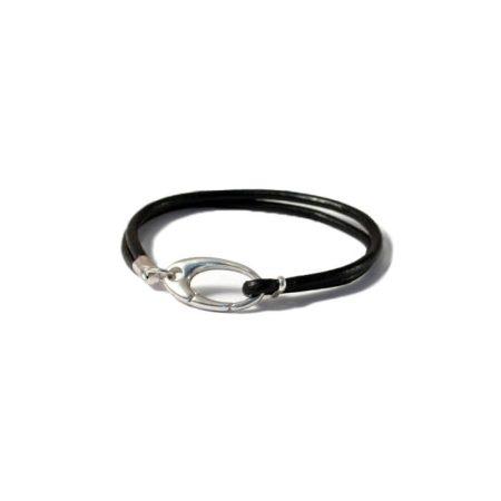 bracelet-homme-varappe-en-cuir-et-argent-cote-mecs-bijoux-monic