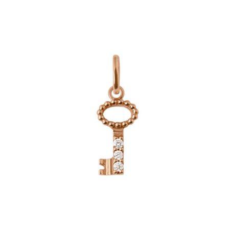 pendentif- cle -en-or-rose-et-diamants-gigi-clozeau