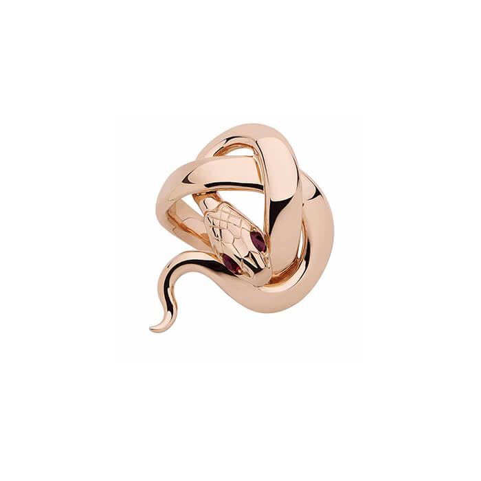 bague-serpent-en-or-rose-et-rubis-sylvie-corbelin-paris