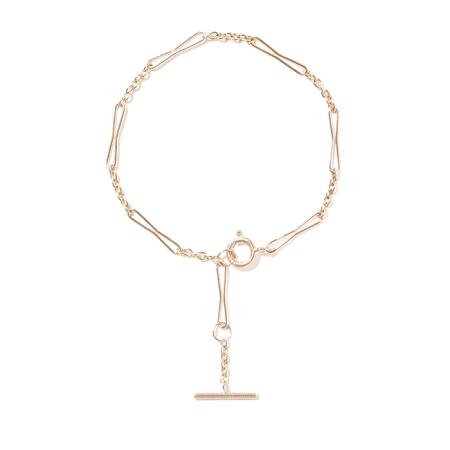 """Bracelet """"Petra"""" en or jaune - PASCALE MONVOISIN"""